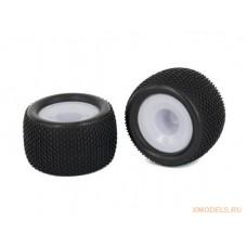 Резина для грунтовых трасс на спортивных дисках увеличенного диаметра (2)