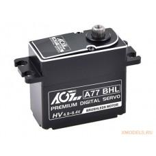 AGF A77BHL 77g Full CNC Aluminium case Waterproof Standard Digital Brushless HV servo