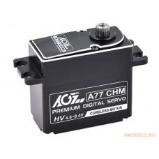AGF A77CHM 77g Full CNC Aluminium Case Waterproof Standard Digital Coreless HV servo