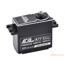 AGF A77CLL 77g Full CNC Aluminum case Waterproof Standard Digital Coreless HV servo