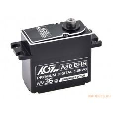 AGF A80BHS 79g Full CNC Alum case WP Standard Brushless HV