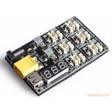 Плата для зарядки 1S LiPo / LiHV аккумуляторов на шесть портов