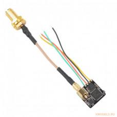 Компактный и легкий гоночный Nano Race VTX 40 CH 25-400mW Power Switchable OSD Smart audio