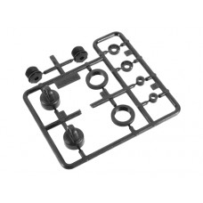 Axial 10mm Shock Caps Parts Tree