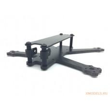 B-ROLL 140mm Micro Carbon Fiber Frame