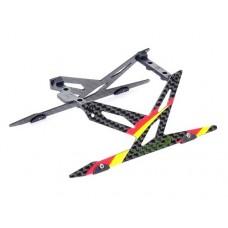 Карбоновые лыжи (Красные) для Blade 130X