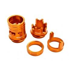 Integy Suspension Spring Adjuster (Orange) for HPI Baja