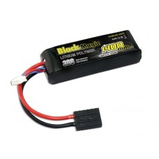 Black Magic LiPo 3S 11.1V 1400mAh 30C (Traxxas Plug)