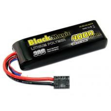 Black Magic LiPo 3S 11.1V 4000mAh 30C (Traxxas Plug)