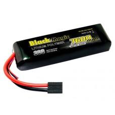 Литий-полимерный аккумулятор LiPo 2S 7.4V 7600mAh 30C (Traxxas Plug)