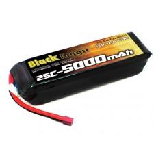 Black Magic LiPo 6S 22.2V 5000mAh 25C (Deans Plug)