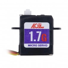 Легкая цифровая ультра-микро сервомашинка C017CLS со скоростью - 0.050сек и пластиковыми шестеренками редуктора