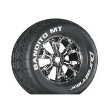 Disc. Duratrax Bandito MT 3.8 w/6-Spoke Wheels (Chrome)