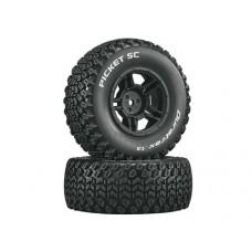 Duratrax Picket SC C2 w/5-Spoke Wheels (Black)