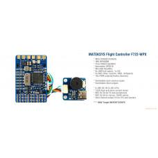 Полетный контроллер F722-WPX Gyro, Barometer, OSD, SD Socket (2-6S)