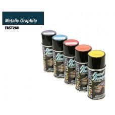 Fastrax Fast Finish Polycarbonate Paint (Metallic Graphite) 150ml