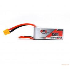 Литий-полимерный аккумулятор для гоночных квадрокоптеров GNB LiPo 6S 22.2V 1500mAh 110C (XT-60)
