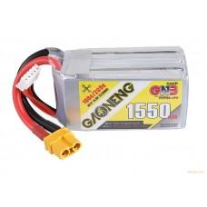 Литий-полимерный аккумулятор для гоночных квадрокоптеров GNB LiPo 4S 14.8V 1550mAh 100C (XT-60)