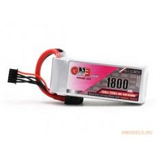 Литий-полимерный аккумулятор для гоночных квадрокоптеров GNB LiPo 4S 14.8V 1800mAh 130C (XT-60)