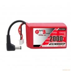 Литий-полимерный аккумулятор GNB 3S 11.1V 2000mAh 5C (DC 5.5) для FPV очков