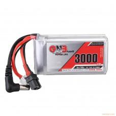 Литий-полимерный аккумулятор GNB 2S 7.4V 3000mAh 5C (XT-60U-F) для FPV очков