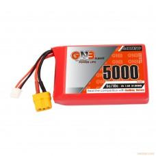 Литий-полимерный аккумулятор GNB 2S 7.4V 5000mAh 5C (XT60) для Radiomaster TX16S