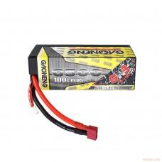 Литий-полимерный аккумулятор GNB 4S 14.8V 6500mAh 100C (XT-90) для моделей 1:10 - 1:8 масштабов