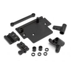Пластиковые детали рулевой трапеции для Bullet Flux, WR8 Flux