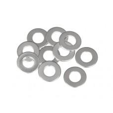 Шайбы стальные регулировочные (5x13x0.3мм)