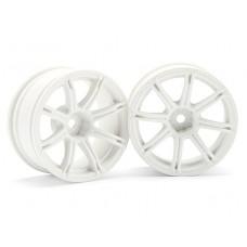 HPI Work Emotion XC8 Wheel 26mm (White) 6mm Offset