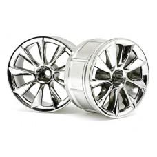 HPI LP35 ATG RS8 Wheel 35mm (Chrome) 0mm Offset