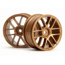 HPI Racing Split 6 Wheel 26mm (Gold) 0mm Offset