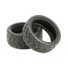 HPI X-Pattern Tire 26mm D Compound (2)