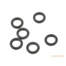 Резиновые кольца-уплотнители 5x8x1.5мм (6шт)