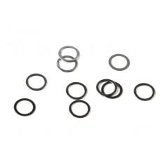 Шайбы стальные регулировочные (5x7x0.2мм)
