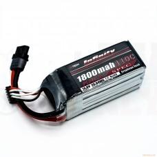 Infinity 4S 14.8V 1800mAh 110C Race Spec Graphene LiPo Battery