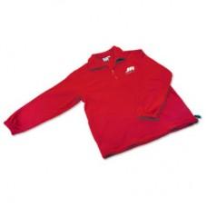 Легкая толстовка с фирменной символикой JR/DSM (красная)