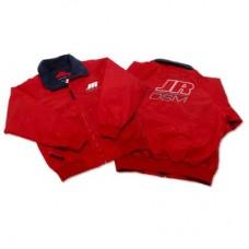 Куртка с фирменной символикой JR/DSM (красная)