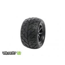 Disc. MedialPro Velocity 2.2 Tires w/Cyclon Wheels (Black) for 1/16 E-Revo