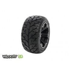 Disc. MedialPro Velocity 2.8 w/Addict 2.8 Wheels (Black) Rear EP