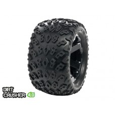 Disc. MedialPro Dirt Crusher 4.0 Tires w/Cyclon 4.0 Wheels (Black)