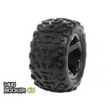 Disc. MedialPro Mud Rocker 4.0 Tires w/Cyclon 4.0 Wheels (Black)
