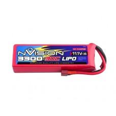 Team Orion nVision LiPo 3S 11.1V 3300mAh 30C (Deans Plug)
