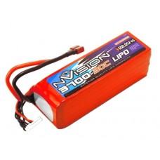Литий-полимерный аккумулятор LiPo 6S 22.2V 3700mAh 30C (Deans Plug)