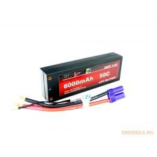 ONBO 6000mAh 2S 50C Lipo Hard Pack