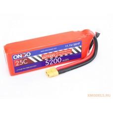 ONBO 5200mAh 3S 25C Lipo Pack