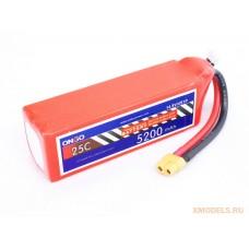 ONBO 5200mAh 4S 25C Lipo Pack