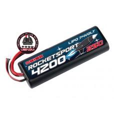 Литий-полимерный аккумулятор Rocket Sport LiPo 2S 7.4V 4200mAh 25C (UNI Plug)