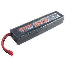 Литий-полимерный аккумулятор FLX LiPo 2S 7.4V 8000mAh 45C (Deans Plug)