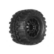 ProLine Interco TSL SX 3.8 Tire w/F-11 17mm, 12mm Offset (Black)